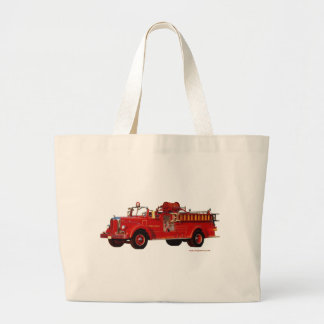 Red_Mack_Fire_truck_Texturized Bag