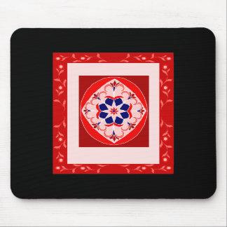 Red Magic Carpet Mousepads