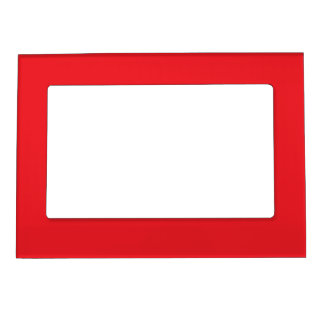 Red Magnetic Picture Frame