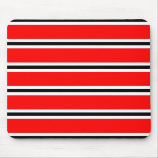 Red Manchester football bar scarf Mouse Mat