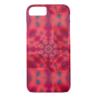 Red Mandala Kaleidoscope iPhone 8/7 Case