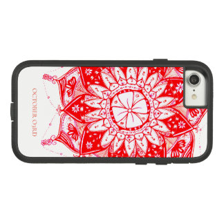 RED MANDALA PHONECASE Case-Mate TOUGH EXTREME iPhone 8/7 CASE