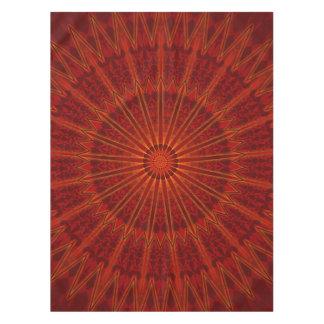 Red Mandala Tablecloth