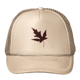 Red Maple Mesh Hats