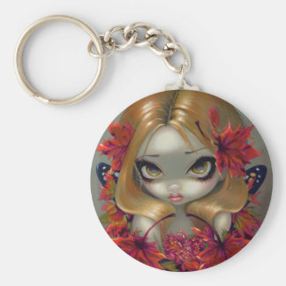 """Red Maple Fairy"" Keychain"