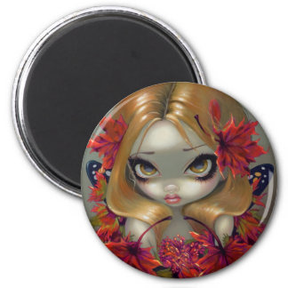 """""""Red Maple Fairy"""" Magnet"""