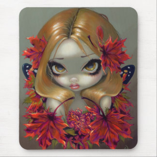Red Maple Fairy Mousepad