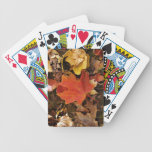 Red Maple Leaf Bicycle® Playing Cards