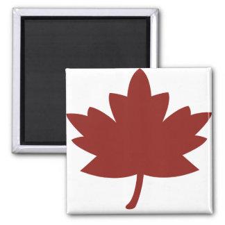 Red Maple Leaf Fridge Magnets