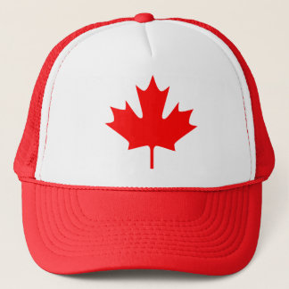 red maple leaf - Hat