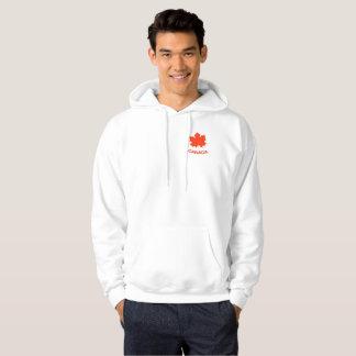 Red maple leaf hoodie