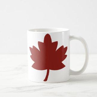 Red Maple Leaf Mugs