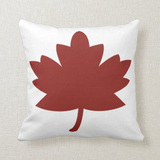 Red Maple Leaf Pillow