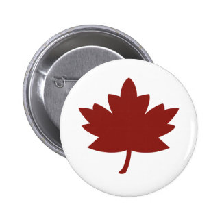 Red Maple Leaf Pin