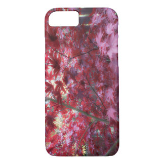 Red Maple Leaves iPhone 8/7 Case