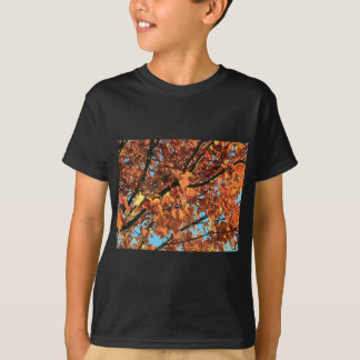 RED MAPLE TREE IN AUTUMN FALL SHIRTS
