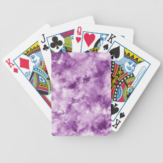 Red Marble Bicycle Playing Cards