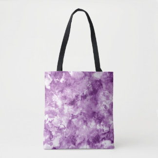 Red Marble Tote Bag