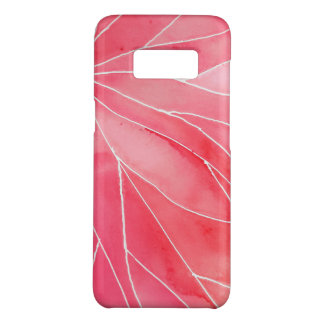 Red Marble Watercolour Break Case-Mate Samsung Galaxy S8 Case