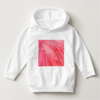 Red Marble Watercolour Break Hoodie