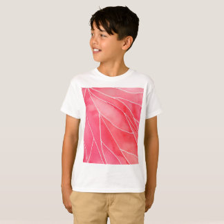 Red Marble Watercolour Break T-Shirt
