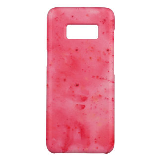 Red Marble Watercolour Case-Mate Samsung Galaxy S8 Case