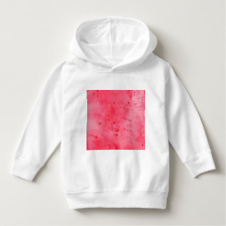 Red Marble Watercolour Hoodie