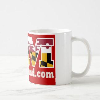 Red Maryland 2018 Logo Mug