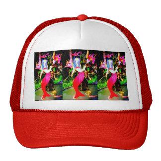red mermaids partying cap