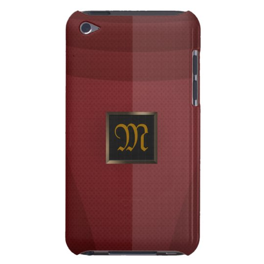 Red Metal iPod Touch Case-Mate Case