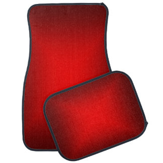 Red Metallic Car Mats