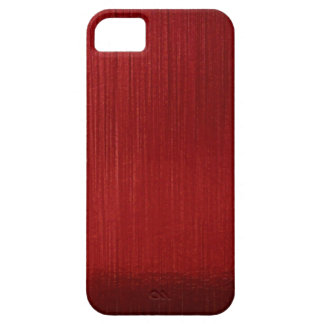 Red Metalline Sheen iPhone 5 Cover