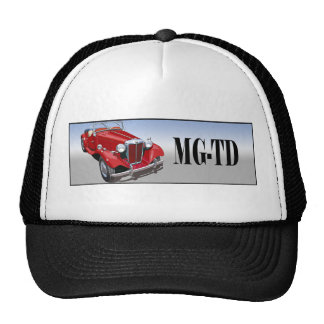 Red MG TD Cap