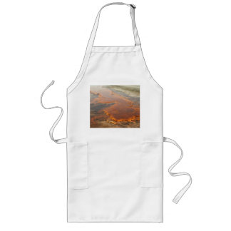 Red Mineral Water Yellowstone Park Long Apron