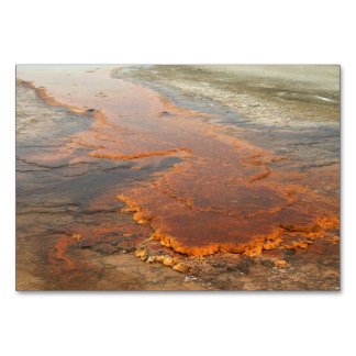 Red Mineral Water Yellowstone Park Table Cards