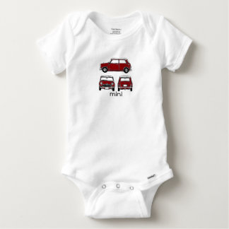 Red Mini Baby Onesie