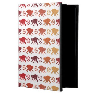 Red Monkeys Pattern Case For iPad Air