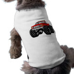 RED MONSTER TRUCK DOGGIE TEE