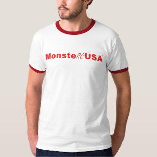 Red MonsteRCUSA Logo T-Shirt