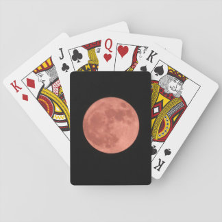 Red Moon Playing Cards