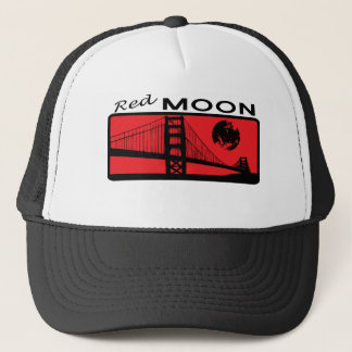 Red Moon Trucker Hat