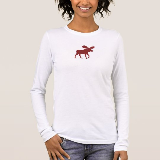 Red Moose Long Sleeve T-Shirt