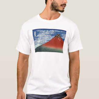 Red Mount Fuji T-Shirt