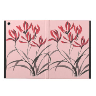 Red Mountain Flowers iPad Air Cover
