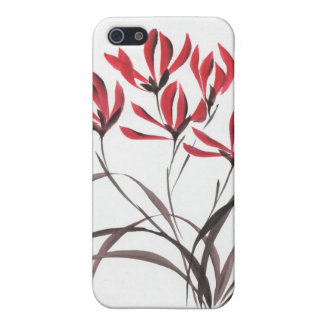 Red Mountain Flowers iPhone 5 Case