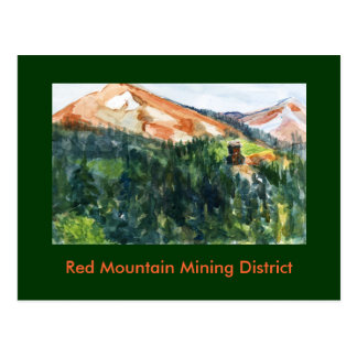 Red Mountain Historic Mining District, Colorado Postcard
