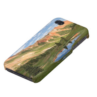 Red Mountain Reflection iPhone 4/4S Cover