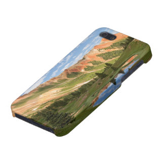 Red Mountain Reflection iPhone 5/5S Covers