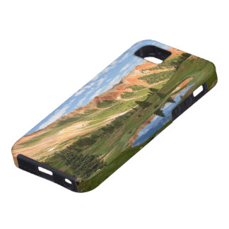 Red Mountain Reflection iPhone 5 Case