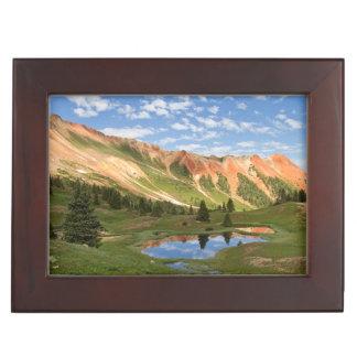 Red Mountain Reflection Keepsake Box